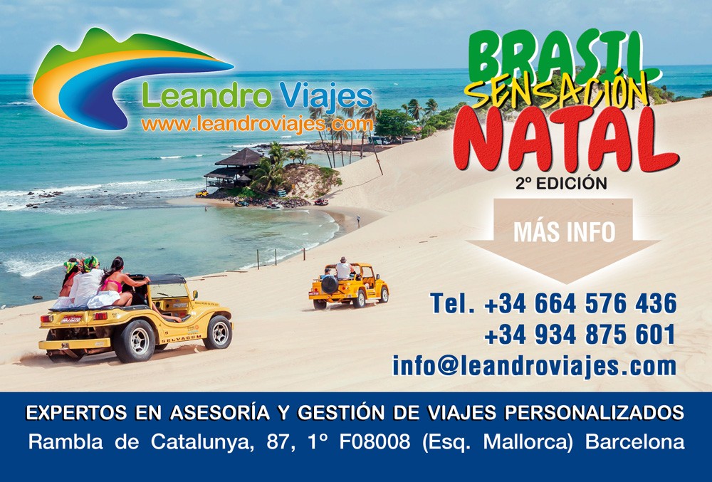 Brasil Sensaci N En Natal 2017 Leandro Viajes